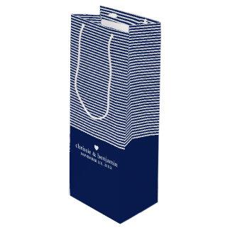 Gastgeschenk Hochzeits-kundenspezifischer Geschenktüte Für Weinflaschen