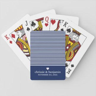 Gastgeschenk Hochzeits-kundenspezifischer Spielkarten