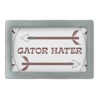 Gator-Hater-est-garnet.gif Rechteckige Gürtelschnalle