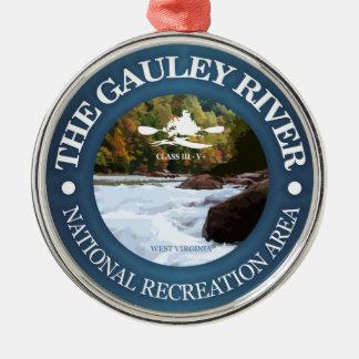 Gauley Fluss (c) Silbernes Ornament