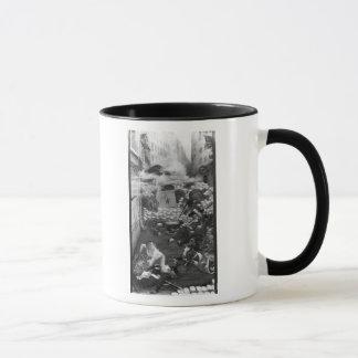 Gavroche, das Patronen sammelt Tasse