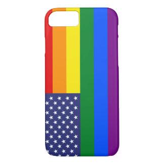 """""""GAY PRIDE-FLAGGE """" iPhone 8/7 HÜLLE"""