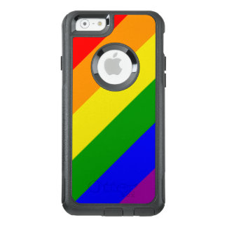 Gay Pride-Regenbogen-Flagge OtterBox iPhone 6/6s Hülle