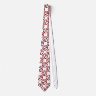 Gebäck-Kochs-Schädel-Rot Individuelle Krawatten