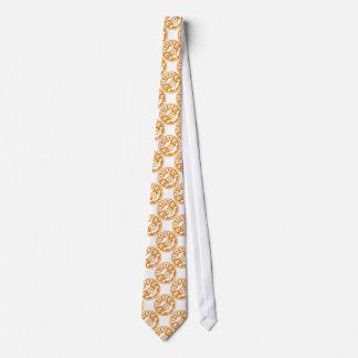 Gebäck-Kochs-Schädel und gekreuzte Gebäck-Taschen: Personalisierte Krawatten