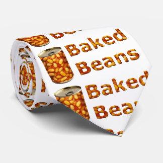 Gebackene Bohnen können Bedruckte Krawatte