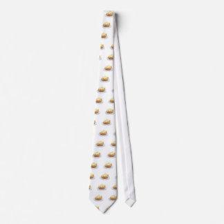 gebackene Kartoffel Bedruckte Krawatten