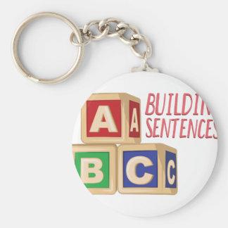 Gebäude-Sätze Schlüsselanhänger