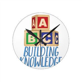 Gebäude-Wissen Runde Wanduhr