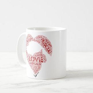Geben Sie… Liebe… adoptieren Tasse