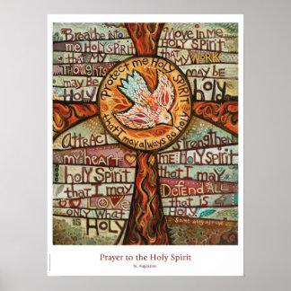 Gebet zum Heiliger Geist Klassenzimmerplakat Poster