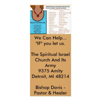 Gebets beantwortet - Glaube eines Senfkorns laden Vollfarbige Werbekarte