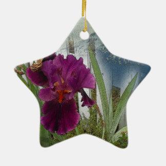 GebirgsBlumen Keramik Ornament