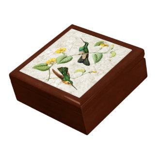 Gebirgsedelstein-Kolibritrinket-Kasten Geschenkbox