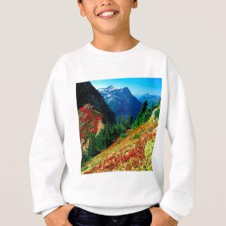 Gebirgsnordkaskaden im Herbst-Bäcker Sweatshirt