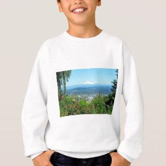 Gebirgsstadt landschaftlich, Portland ODER Sweatshirt