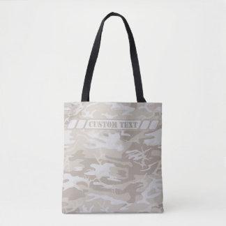 Gebleichte Ödland-kakifarbige Camouflage-Tasche