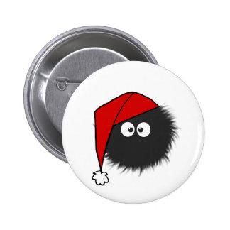 Geblendetes Wanzen-Weihnachten Runder Button 5,7 Cm