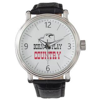 Geboren, Land zu spielen Uhr
