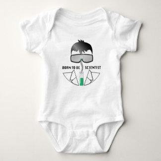 Geboren, Wissenschaftler zu sein Baby Strampler