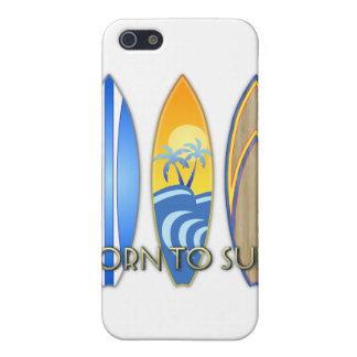 Geboren zu surfen iPhone 5 etui