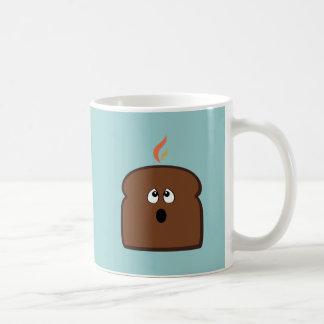 Gebrannter Toast Tasse