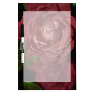 Gebrochene Rote Rose durch Shirley Taylor Trockenlöschtafel