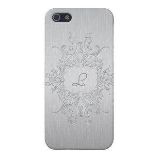 Gebürstete AluminiumiPhone Haut-Gewohnheit Etui Fürs iPhone 5