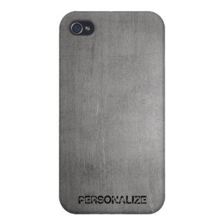 Gebürstete Metallbeschaffenheit Etui Fürs iPhone 4