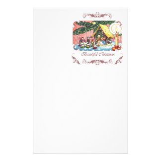 Geburt Christi unter dem Briefpapier