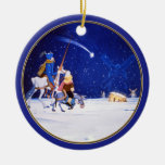 Geburt Christis- u. Don Quichote Fantasie - durch  Weihnachtsornament