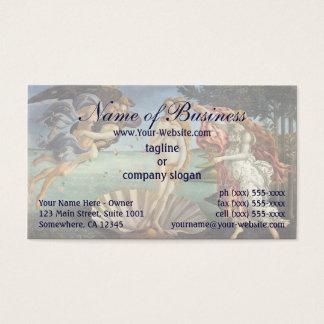 Geburt von Venus durch Sandro Botticelli Visitenkarte