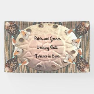 Gebürtige Sand-Dollar-Hochzeit Banner