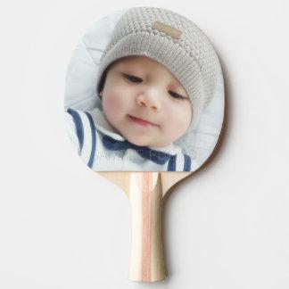 Geburts-Mitteilung mit kundenspezifischem Tischtennis Schläger