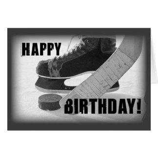 Geburtstag des Hockey-3816 Karte