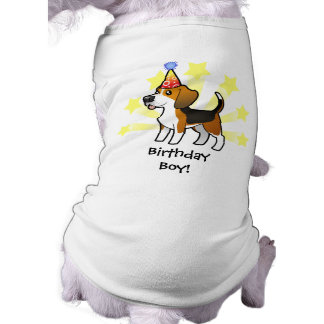 Geburtstags-Beagle Top