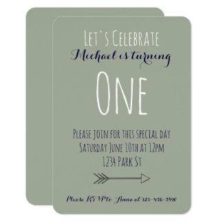 Geburtstags-Einladung 8,9 X 12,7 Cm Einladungskarte
