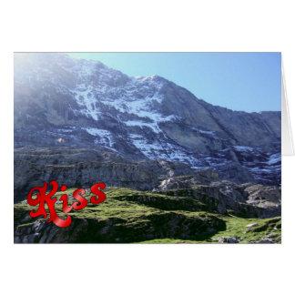 Geburtstags-Grüße - Jungfrau Region Karte