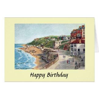 Geburtstags-Karte - Cromer, Norfolk Karte