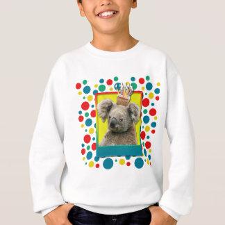 Geburtstags-kleiner Kuchen - Koala Sweatshirt