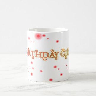 Geburtstags-Mädchen Kaffeetasse