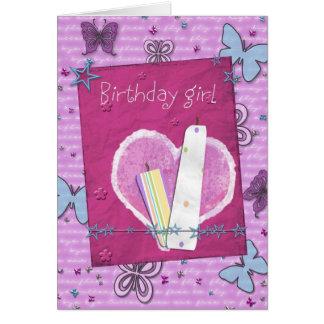Geburtstags-Mädchen Karten