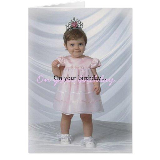 Geburtstags-Mädchen Karte