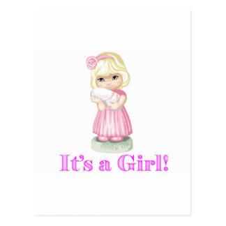 Geburtstags-Mädchen Postkarten