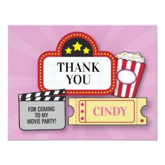 Geburtstags-Party danken Ihnen Karte