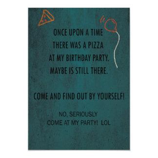 Geburtstags-Party Einladung! Yey! 12,7 X 17,8 Cm Einladungskarte