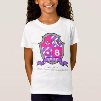 Geburtstags-Prinzessinritter Emilynamensbedeutung T-Shirt