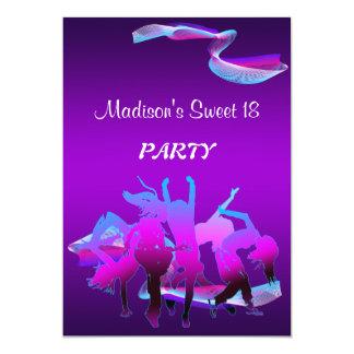 Geburtstags-Tanz-Party Karte