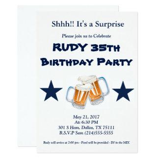 Geburtstags-Überraschung 12,7 X 17,8 Cm Einladungskarte
