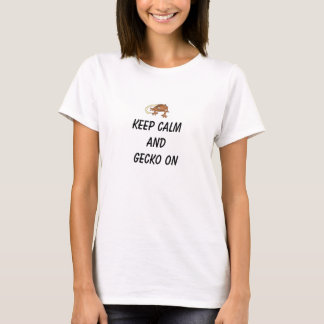 Gecko an T-Shirt